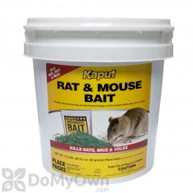 Kaput Rat & Mouse Bait - 60 placepacks