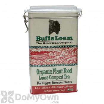 BuffaLoam Organic Plant Food Loose Compost Tea