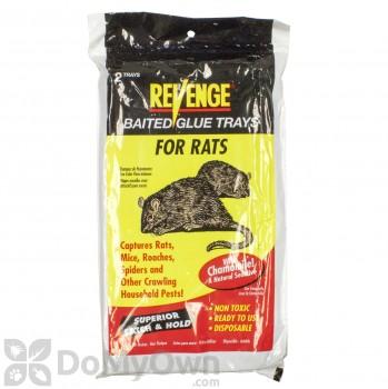 Revenge Baited Glue Trays for Rats
