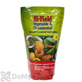 Hi-Yield Vegetable & Ornamental Insect Control Granules