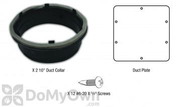 Santa Fe Dehumidifier Duct Kit, Supply Only (4033039)