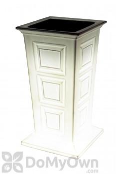 Savannah LED Planter - White