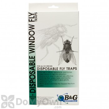 B&G Disposable Window Fly Trap (DWT-2000) (14001081)