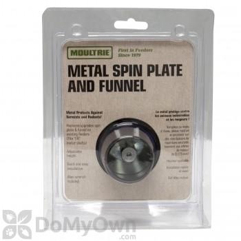 Moultrie - Metal Spinner Plate/Funnel Kit
