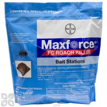 Maxforce FC Roach Bait Stations - CASE (4 bags)