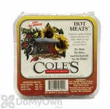 Coles Wild Bird Products Hot Meats Suet Bird Seed Cake