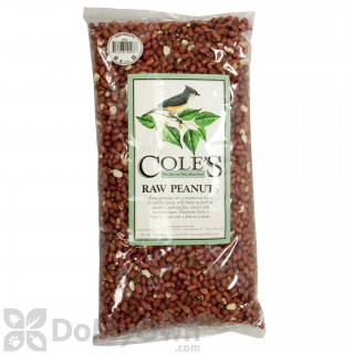 Coles Wild Bird Products Raw Peanuts