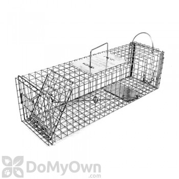 Tomahawk Deluxe Live Trap Skunks/Opossums Easy Release Door - Model 605