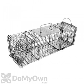 Tomahawk Pro Rigid Live Trap extra long for skunk, opossum, prairie dog, large squirrel & similar sized animals - Model 605SS