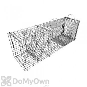 Tomahawk Rigid Live Trap flush mount for raccoon, feral cat, woodchuck, badger & similar sized animals - Model 608.2