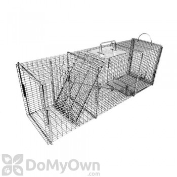 Tomahawk Pro Rigid Live Trap flush mount for raccoon, feral cat, woodchuck, badger & similar sized animals - Model 608.2SS