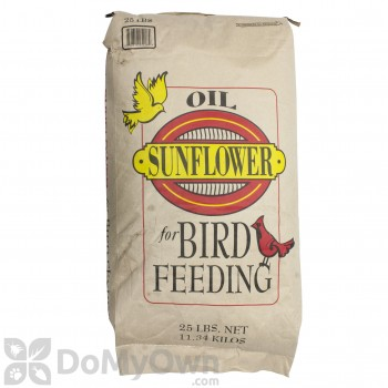 Songbird Essentials Black Oil Sunflower Bird Seed 25 lb (SEEDBO25)