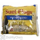 Wildlife Sciences Peanut Blend Suet Plug Bird Food 11 oz. (784)