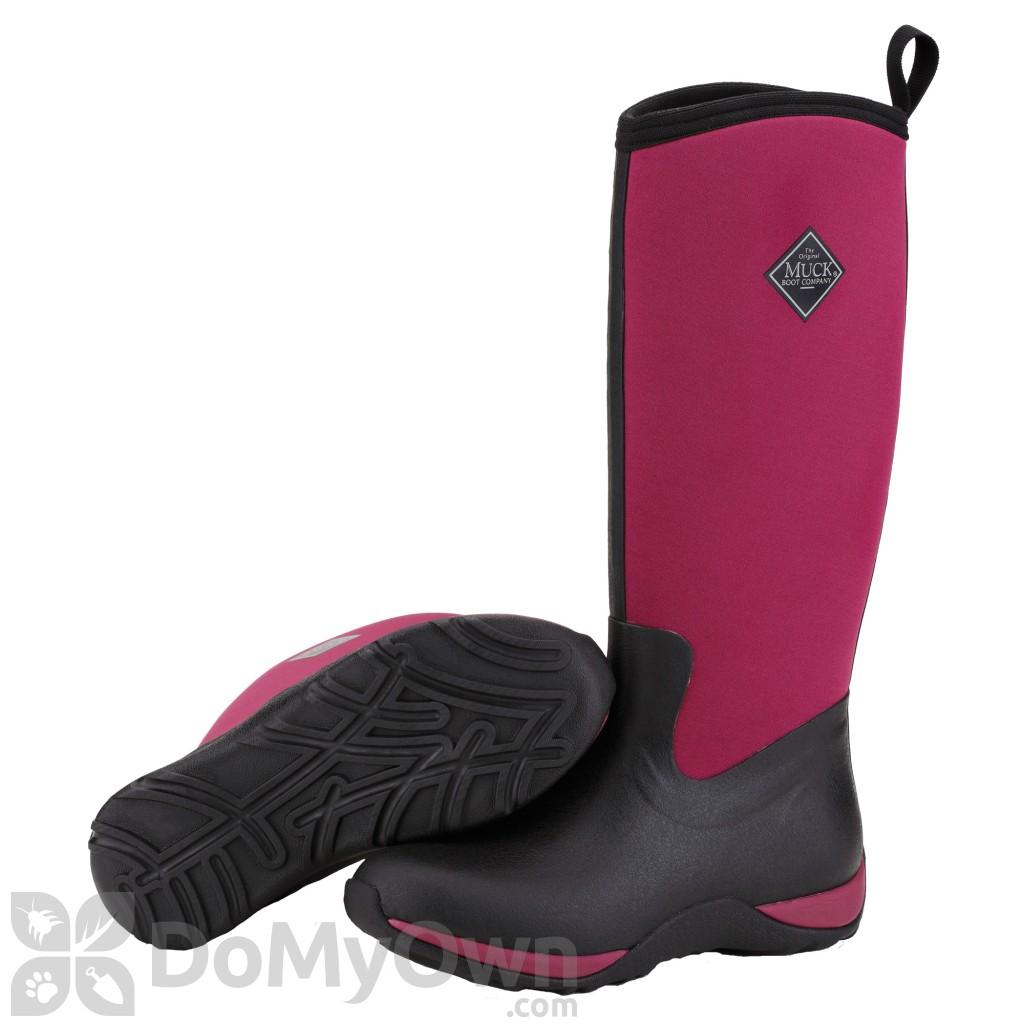 Boots Arctic Adventure Women's Black / Maroon Boot