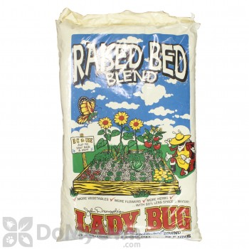 Lady Bug Natural Brand Square Foot Gardening Blend