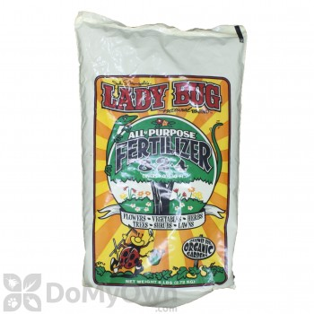Lady Bug Natural Brand All Purpose Fertilizer 8-2-4