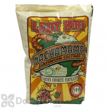 Lady Bug Natural Brand Pachama Earthworm Castings