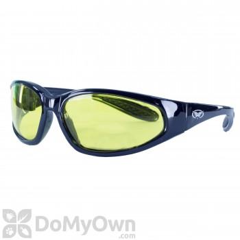 Global Vision Eyewear Hercules Safety Glasses - Yellow Tint