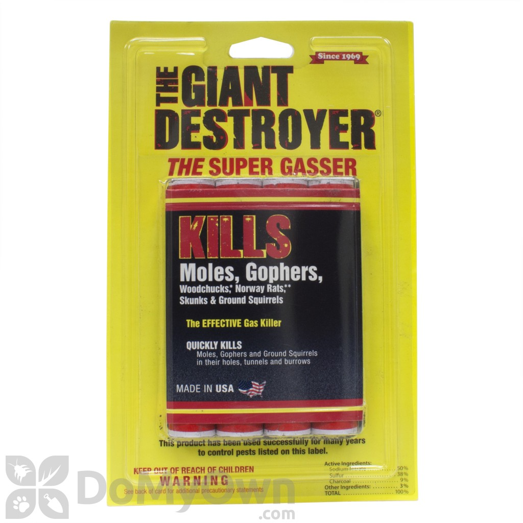 Giant Destroyers Rodent Eliminator - 4 Pack