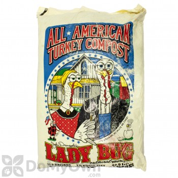 Lady Bug Natural All American Turkey Compost