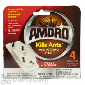 Amdro Kills Ants Bait Stations 4 pack