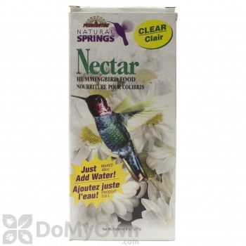 Pennington Natural Springs Hummingbird Nectar Clear Powder 8 oz. Box