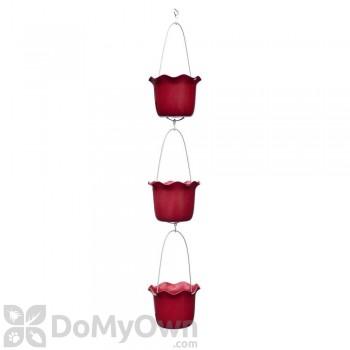 Pennington Tango Red 3 Pot Ruffled Vertical Garden Kit 7 in.