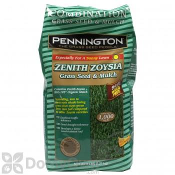 Pennington Zenith Zoysia Grass Seed with Mulch