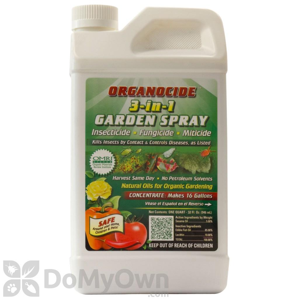 Organocide 3 In 1 Garden Spray Concentrate