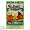 Dr Earth Home Grown Tomato Vegetable Herb Fertilizer Box 4 lb