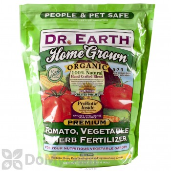 Dr Earth Home Grown Tomato Vegetable Herb Fertilizer