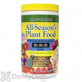 Grow More 20-20-20 All Seasons Fertilizer