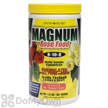 Grow More 8-10-8 Magnum Grow Rose Food