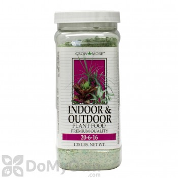 Grow More Indoor Outdoor Plant Food 20-6-16