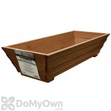 Pennington Flared Window Box Heartwood with Planter Guard 24 in.