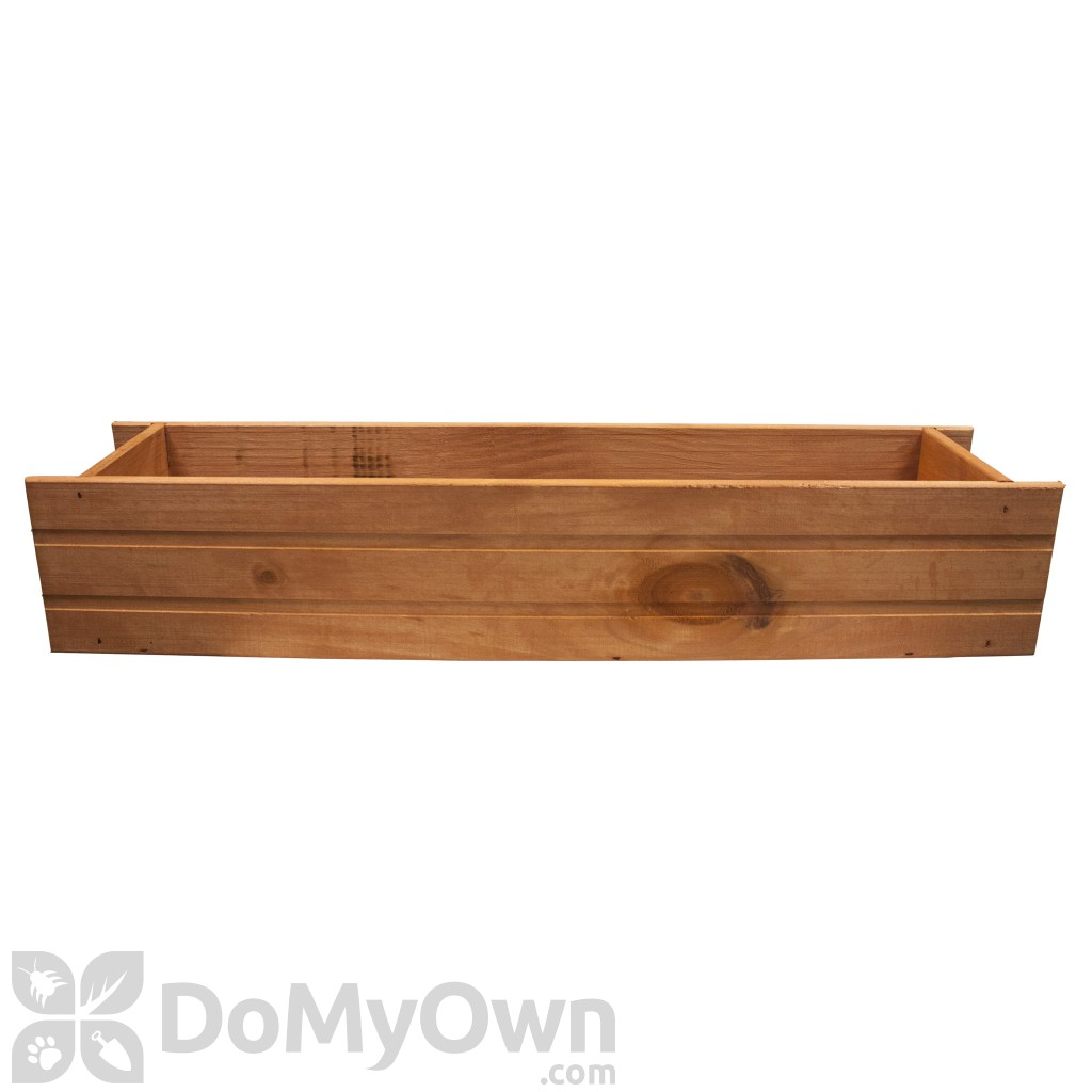 Matthews Four Seasons Window Box Heartwood With Planter