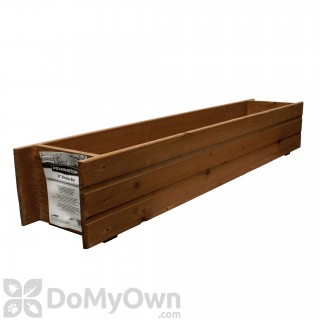 Pennington Window Box Heartwood with Planter Guard 36 in.
