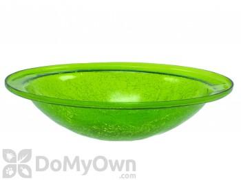 Achla Designs Crackle Glass Bowl Fern Green Bird Bath (no cradle) (CGB-05FG)
