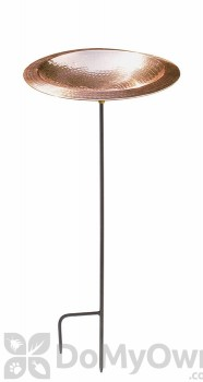 ACHLA Designs Hammered Copper Bowl with Stand (BBHC-01T-S)