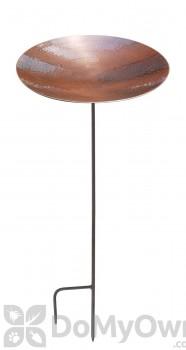 ACHLA Designs Burnt Copper Bird Bath with Stand (BCB-01S)