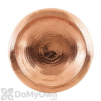 ACHLA Designs Hammered Copper Bowl Bird Bath (BBHC-01)