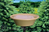 Allied Precision Non - Heated Bird Bath Deck / Pole 14 in. (13B)