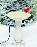 Allied Precision Heated Bird Bath with Hardware 20 in. (600)