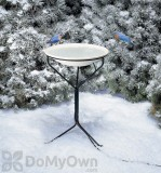 Allied Precision Heated Bird Bath with Metal Stand 20 in. (970)