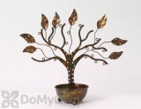 Ancient Graffiti Large Jewelry Tree Stand with Bowl (83212)
