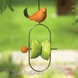 Ancient Graffiti Hanging Bird Fruit Bird Feeder Spear Spice (AG88005)