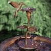 Ancient Graffiti Copper Bird Bath Dripper / Fountain Hummingbird (AG940HB)