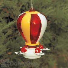 Artline Balloon Hummingbird Feeder - Vertical Stripe 32 oz. (5560)