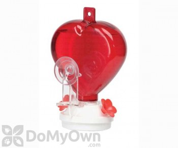 Artline Heart Window Hummingbird Feeder 12 oz. (5571)