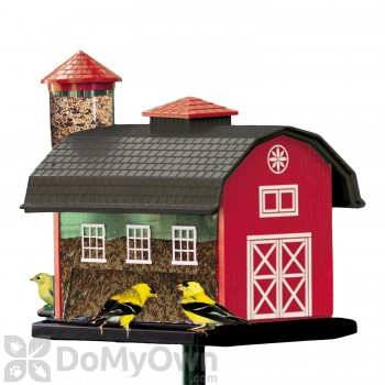 Artline Red Barn Combo Bird Feeder (6290)